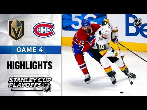 Semifinals, Gm 4: Golden Knights @ Canadiens 6/20/21 | NHL Highlights
