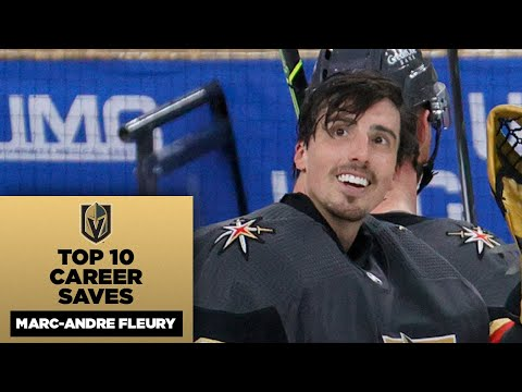 Marc-Andre Fleury's Top 10 Career Saves
