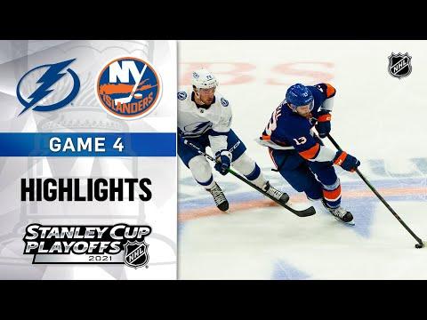 Semifinals, Gm 4: Lightning @ Islanders 6/19/21 | NHL Highlights