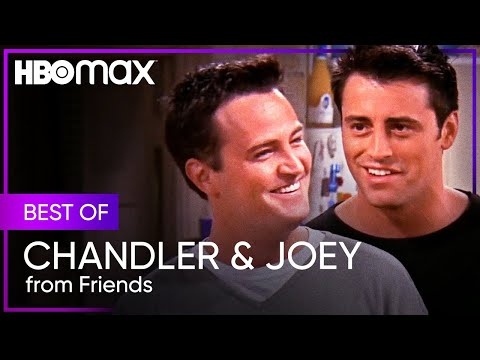Friends   Best Of Chandler and Joey   HBO Max