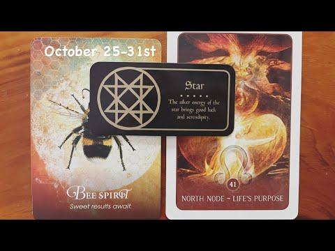 Weekly Messages October 25th-31st