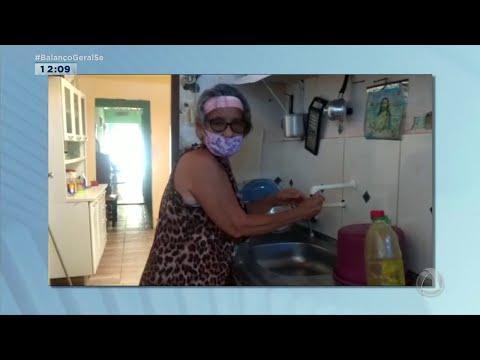 Telespectadora do bairro Cirurgia, em Aracaju, reclama de falta d'água - Balanço Geral Sergipe