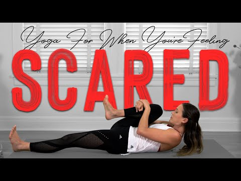 Yoga for When You Are Feeling Scared  |  Yoga With Adriene