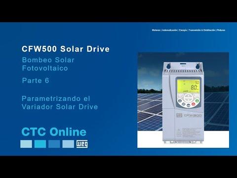 WEG Solar -- Parametrizando el Variador CFW500 Solar Drive