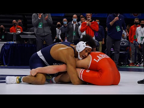 One-on-one with Carter Starocci | Big Ten Championships