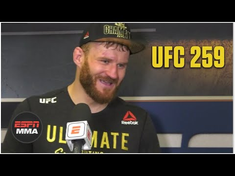 Jan Blachowicz proud to be first to defeat Israel Adesanya | UFC 259 | ESPN MMA