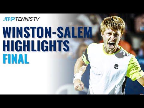 Ilya Ivashka vs Mikael Ymer | Winston Salem Final Highlights
