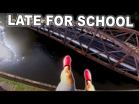 BEST OF LATE FOR SCHOOL PARKOUR POV