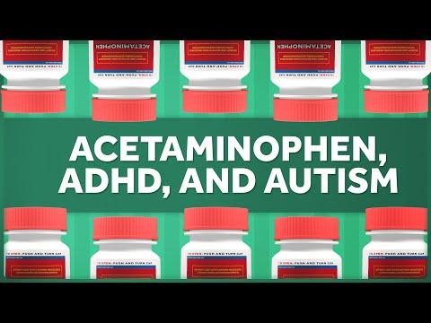 Relative Risks of Acetaminophen, ADHD, and Autism