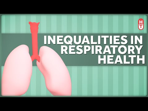 Socioeconomic Disparity and Inequality Even Extend to Breathing