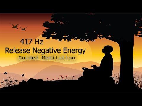 417 Hz Release Negative Energy, Guided Meditation, Positive Energy, Binaural Beats, Meditation