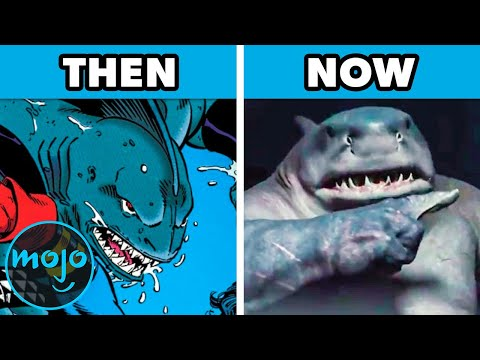 Top 10 Characters from The Suicide Squad Then vs Now