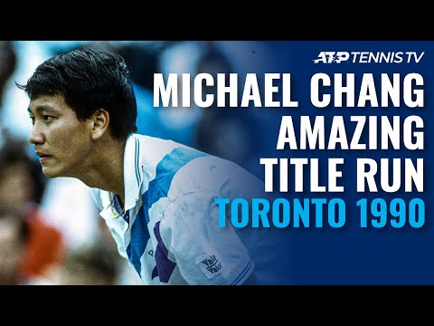When Michael Chang Beat Agassi AND Sampras to Win Toronto 1990! | Classic Tennis Highlights