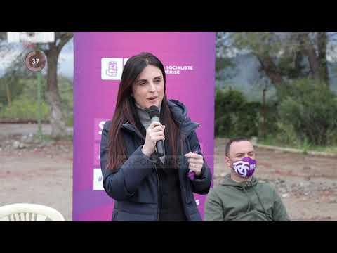 Top Channel/ Fushata e PS në Durrës/ Kandidatët socialiste takojnë banorët e Manzës