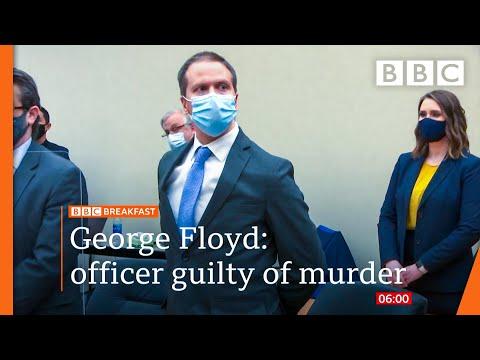 Derek Chauvin found guilty of George Floyd murder after three-week trial - BBC News live